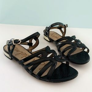 Sam Edelman Black Daphnie Sandals Size 6.5